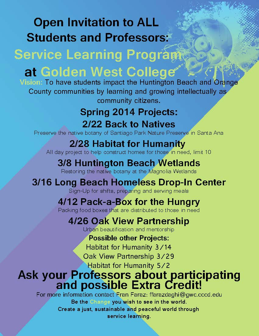 Service learning spring 14 poster