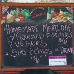 Lino's Italian Restaurant – Food Cart – Thur, July 28 – Menu