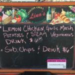 Lino's Italian Restaurant – Food Cart – Days Menu…