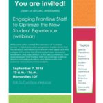 Engaging Frontline Staff