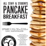 All Staff and Students Pancake Breakfast