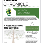 Announcing the Release of The Peace Chronicle