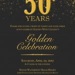 50th Anniversary Golden Celebration