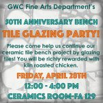 TODAY – Tile Glazing Party