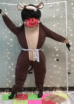 Disco Sue - Scarecrow contest