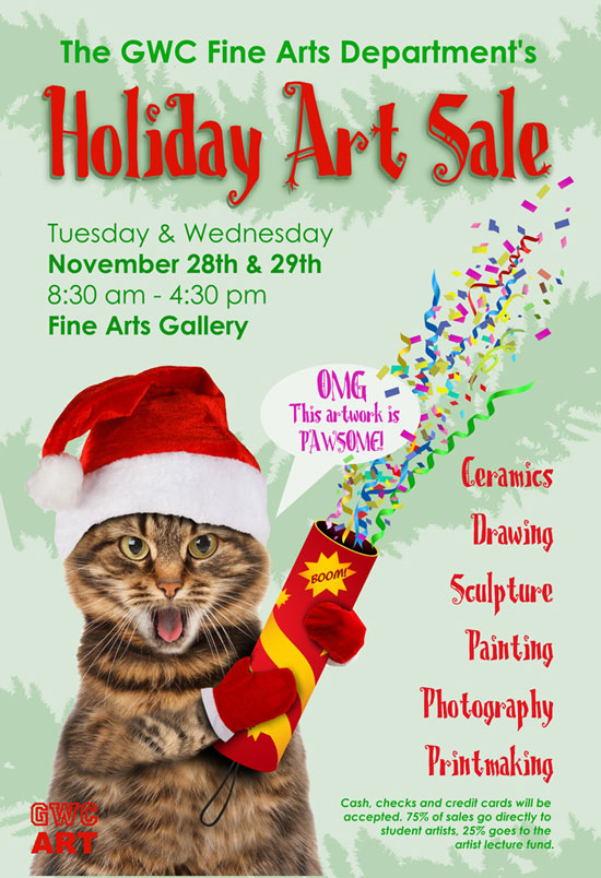 GWC Holiday Art Sale 2017