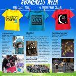 Sexual Assault Awareness Week – April 23 – 27