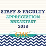 GWC Staff And Faculty Awards Announced At Annual Appreciation Breakfast, Wes Bryan And Retirees Receive Warm Sendoff