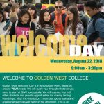 Welcome Day – Info Booth Sign-up