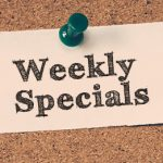 GWC Food Services – Weekly Specials for March 18 to 22