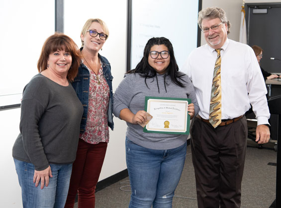 GWC Recognition of Student Excellence - Leyna Nguyen
