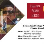 GWC Pizza with Private Schools