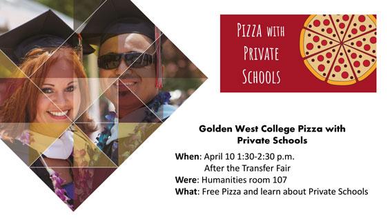 GWC Pizza with Private Schools