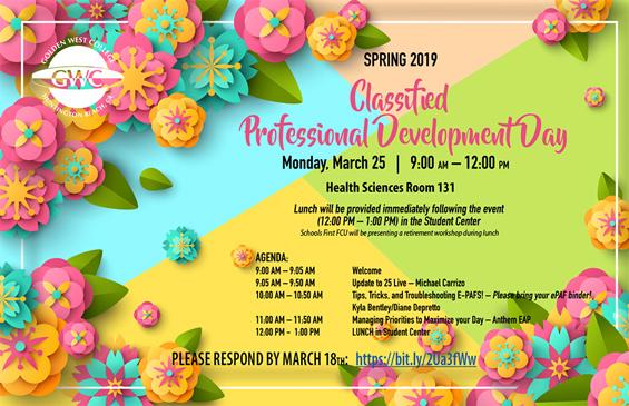 Classified Professional Development Day