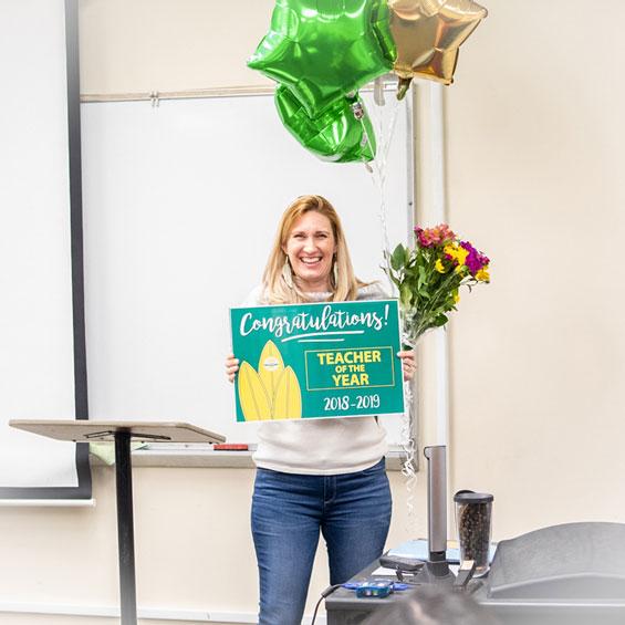 GWC Teacher of the Year - Sunshine McClain